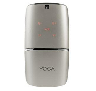 Lenovo - YOGA Wireless Optical Mouse - Silver