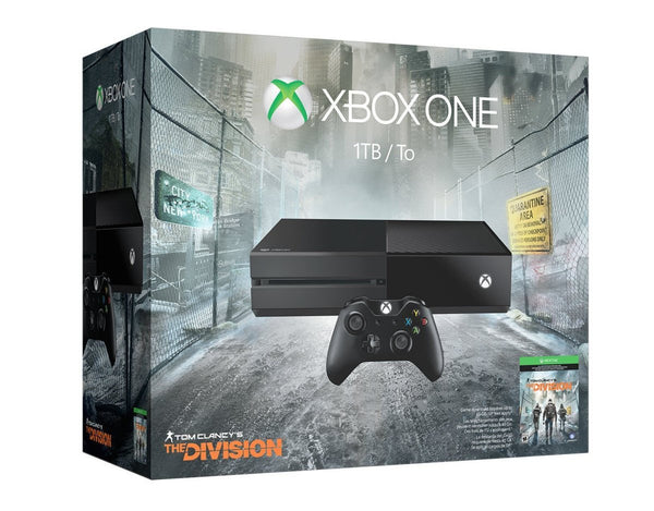 Xbox One 1TB Console - Tom Clancy's The Division Bundle