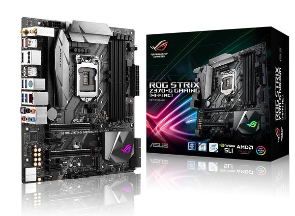 ASUS ROG STRIX Z370-I GAMING LGA1151 DDR4 DP HDMI M.2 Z370 mini-ITX Motherboard