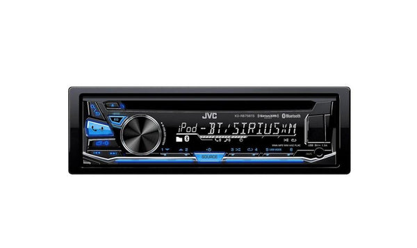 JVC Arsenal KD-R875BTS Single DIN Bluetooth In-Dash