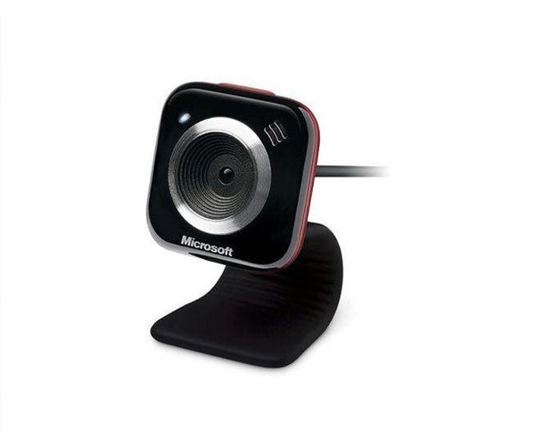 Microsoft LifeCam VX-5000 Webcam (Red Accent)