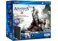 PlayStation 3 - Assassin's Creed III Bundle - 500 GB