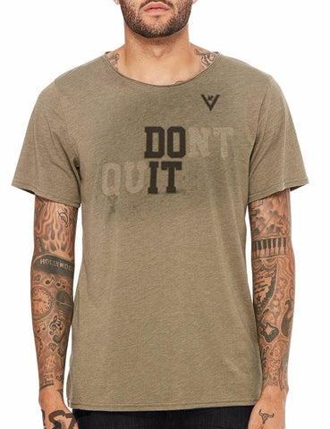 "Men's ""DO IT"" Short Sleeve Cotton"
