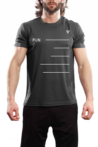 "Men's ""RUN""  Short Sleeve"