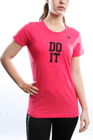 "Women's ""DO IT"" 50/50 Crew"