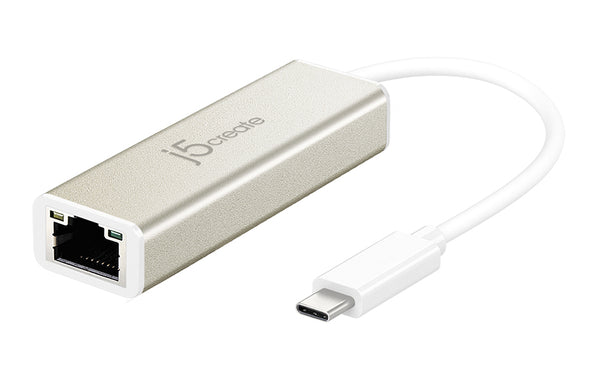 JCE131 USB Type-C Gigabit Ethernetアダプター