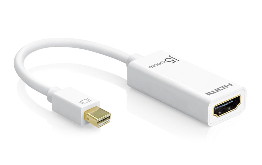 JDA159 Mini DisplayPort to 4K HDMIアダプター