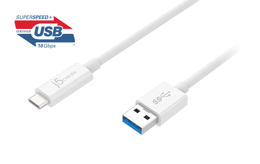 JUCX06 USB 3.1 Type-C to Type-A ケーブル