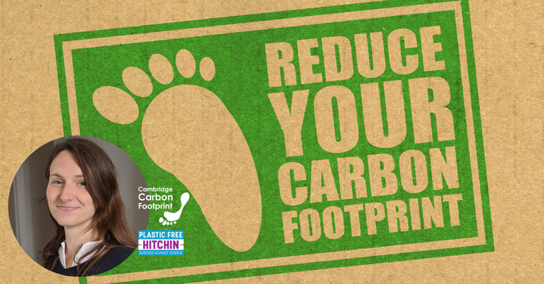 reducing your carbon footprint: top tips from Anni Sander