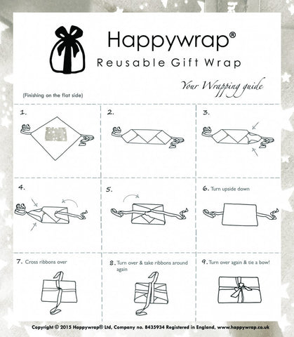 Happy Wrap Instructions