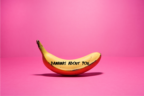 Zero Waste Valentines Bananas About You