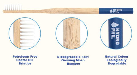 hydrophil bamboo toothbrushes