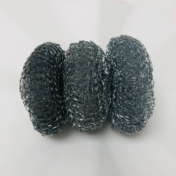 steel scourers (3 pack)