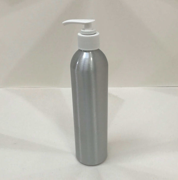 aluminium pump bottle 250ml