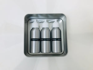body travel refill set (100ml trio)