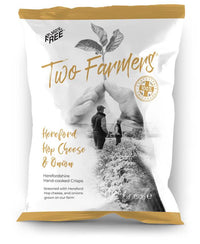 crisps (in compostable packet) HEREFORD CHEESE & ONION