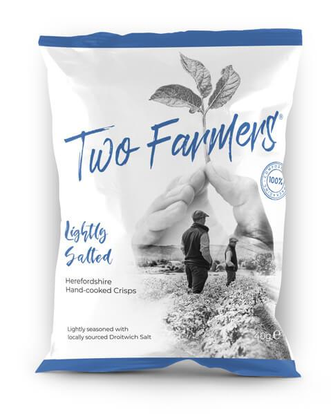 crisps (in compostable packet) LIGHTLY SALTED