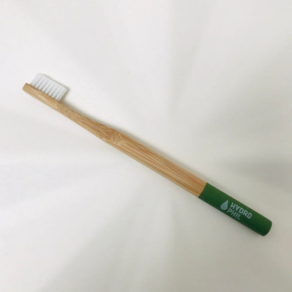 bamboo toothbrush adult green