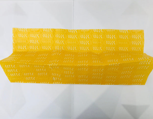 BeeBee beeswax wrap bread large yellow