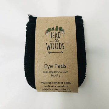 cotton eye pads x 5