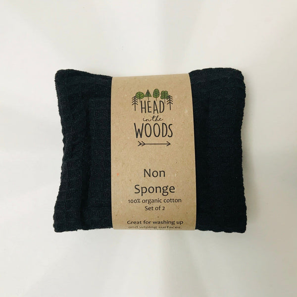 cotton non sponge x 2