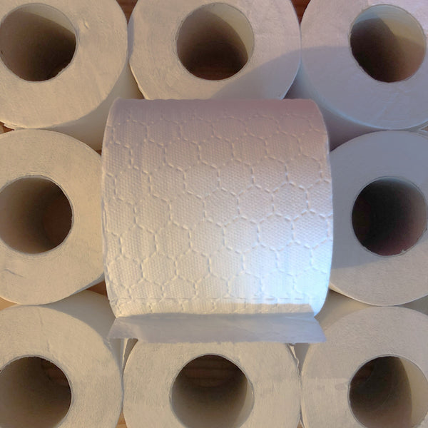 toilet roll (UK made, recycled & naked)