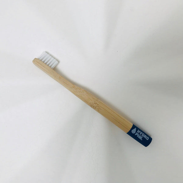 bamboo toothbrush kids blue