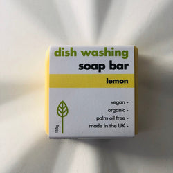 washing up soap bar 155g (lemon)