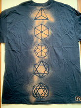 Load image into Gallery viewer, Platonic Solids T-shirt