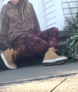 Honeycomb full length Leggings