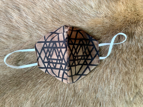 Sri Yantra Face Mask
