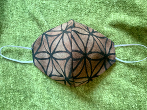 Flower of Life / Honeycomb Face Mask