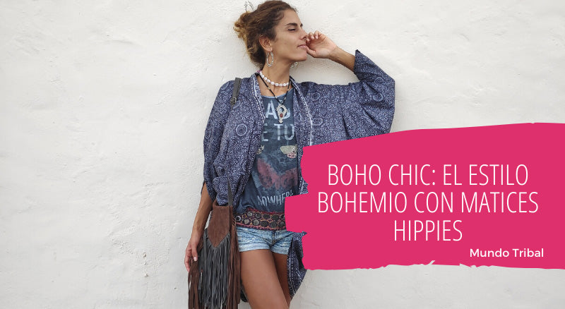 BOHO CHIC: estilo bohemio con matices hippies
