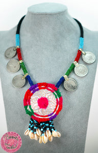 collar étnico tribal boho chic