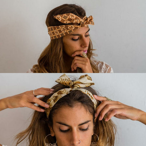 lazo pin up bandana pelo