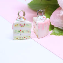 Load image into Gallery viewer, Birthday Sprinkle Cake Charm