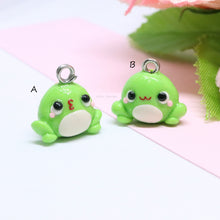 Load image into Gallery viewer, Green Froggy Charm