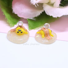 Load image into Gallery viewer, Lazy Glitter Gudetama Charm