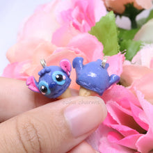 Load image into Gallery viewer, Stitch Inspired Ice Cream Charm