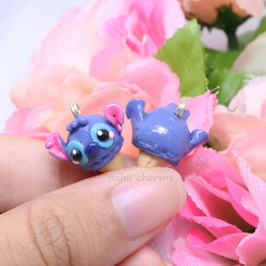 Stitch Inspired Ice Cream Charm