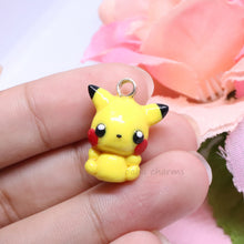 Load image into Gallery viewer, Yellow Electric Mouse Charm