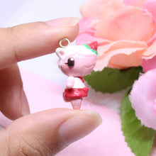 Load image into Gallery viewer, Strawberry Rhino Villager Merengue Charm