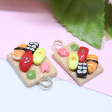 Load image into Gallery viewer, Sushi Platter 4 Piece Charm