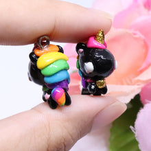 Load image into Gallery viewer, Chubby Rainbow Unicorn Charm