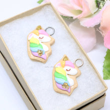 Load image into Gallery viewer, Rainbow Unicorn Cookie Charm