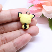 Load image into Gallery viewer, Yellow Mouse Pichu Charm