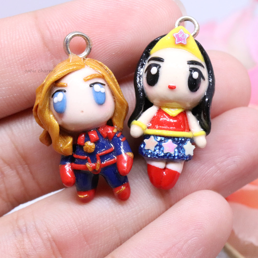 Super Heroine Charms
