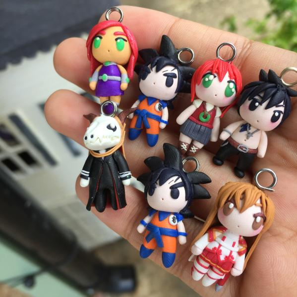 Personalized Full Body Character Charm