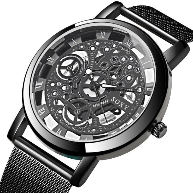 Luxury Steel Watch