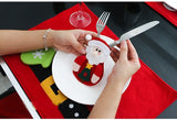 Christmas Decorations For Dinner Table - 6Pcs